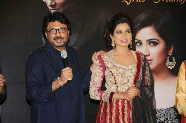 Shreya Ghoshal and Sanjay Leela Bhansali