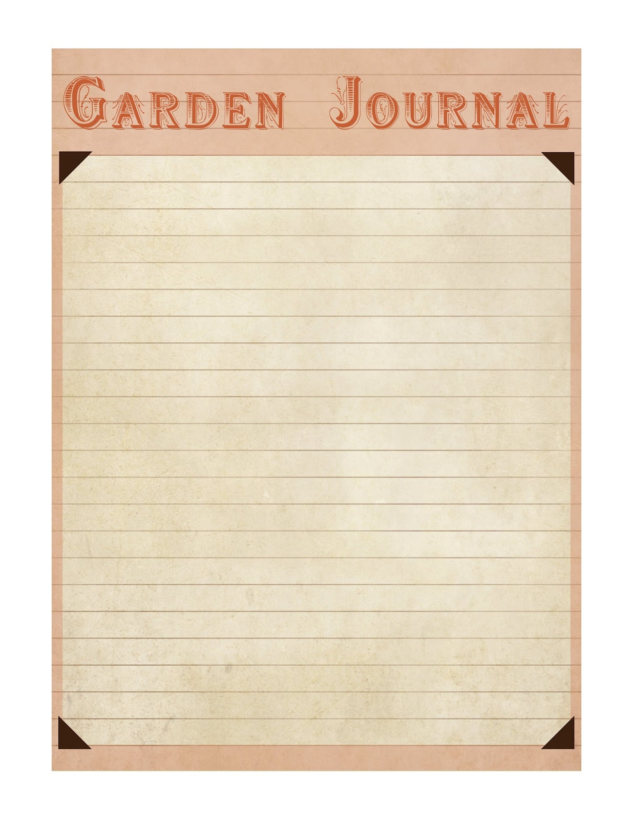 Old Journal Template Viewing Gallery