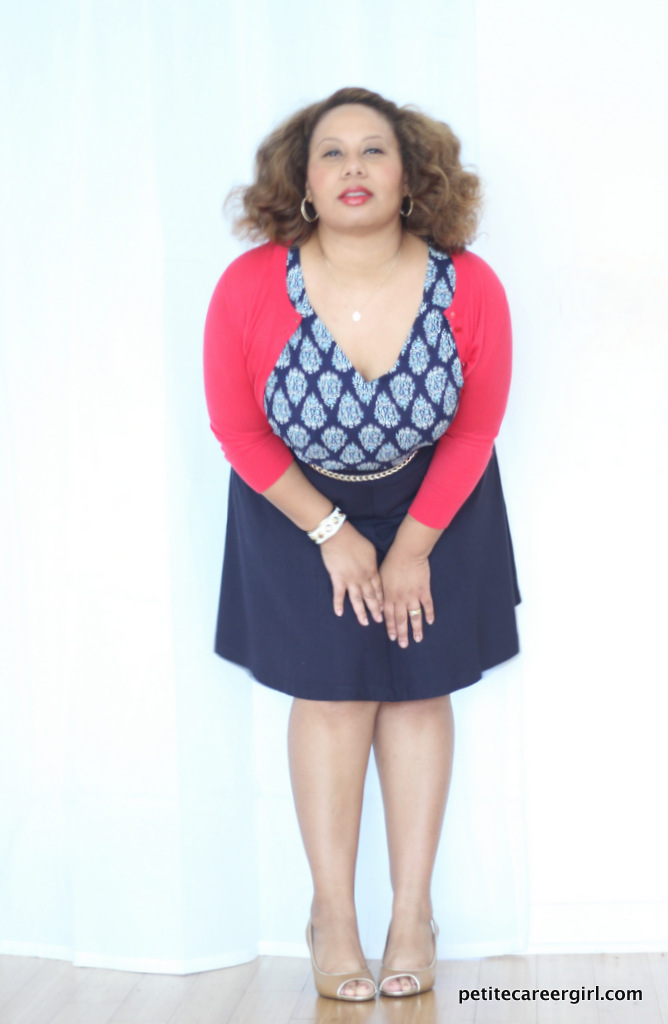 Curvy, Petite Outfit Ideas   Professional Casual Chic Fashion and Style Inspiration   Plus Size Fashion   Summer Fashion   OOTD   Nautical Outfit - (Business Casual Attire)
