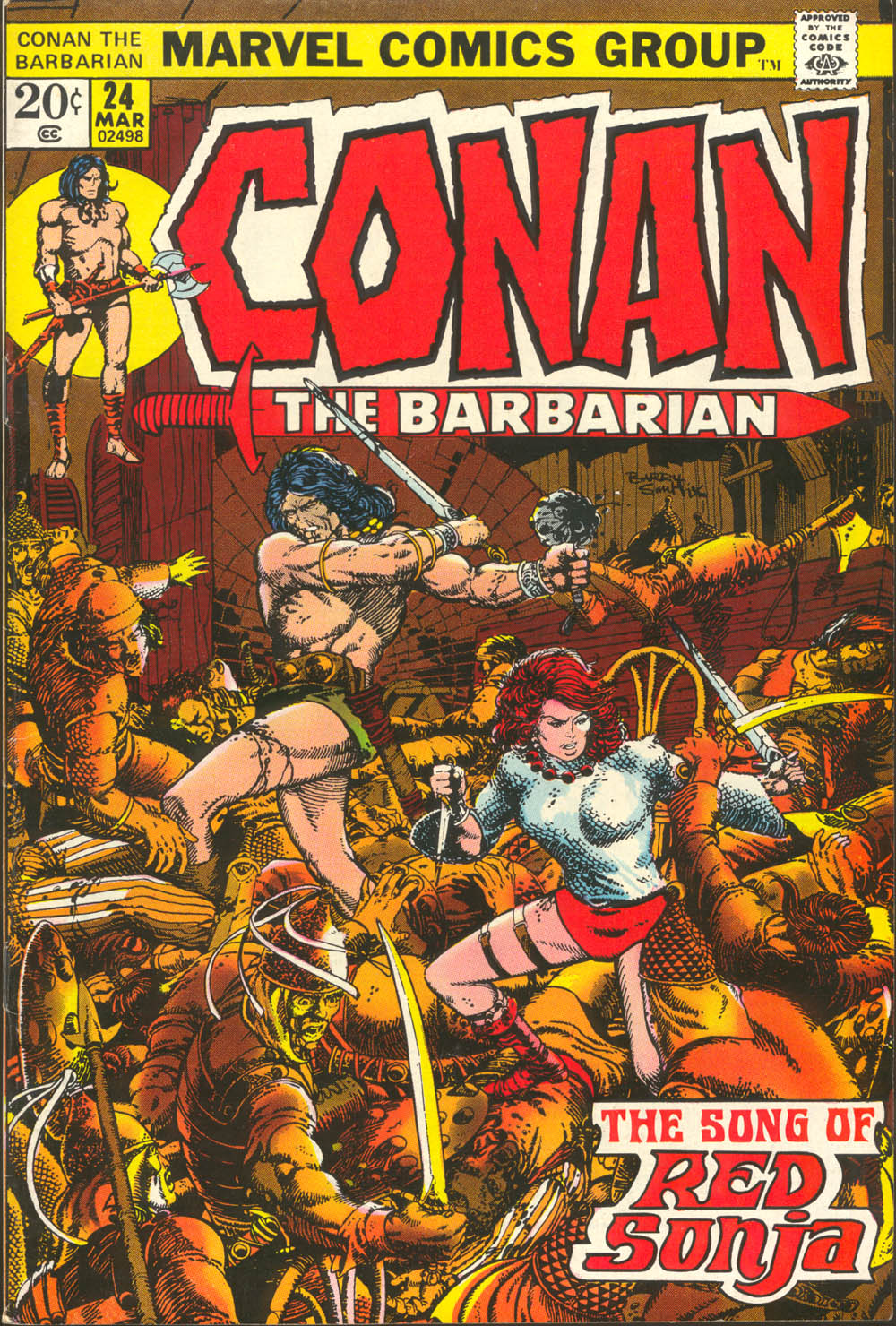 Conan the Barbarian (1970) Issue #24 #36 - English 1