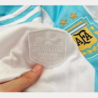 Detail slogan Aregentina Somos Todos