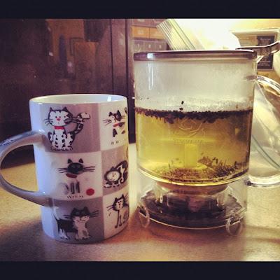Teavana Cocao Black Mint Tea