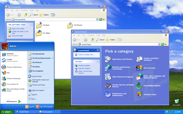 2001  Windows XP