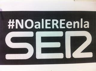 Protestas por el ERE en la Cadena SER #noalereenlaser