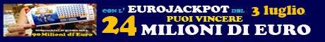 Eurojackpot estrazione del 3 Luglio 2015