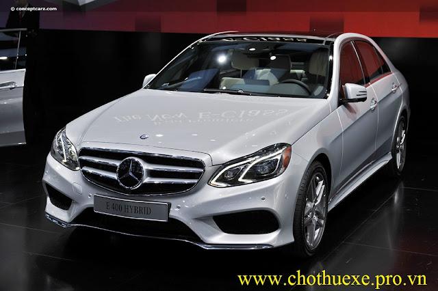 Cho thuê xe 4 chỗ Mercedes Benz E400 cao cấp