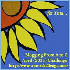 Blogging from A to Z April Challegene