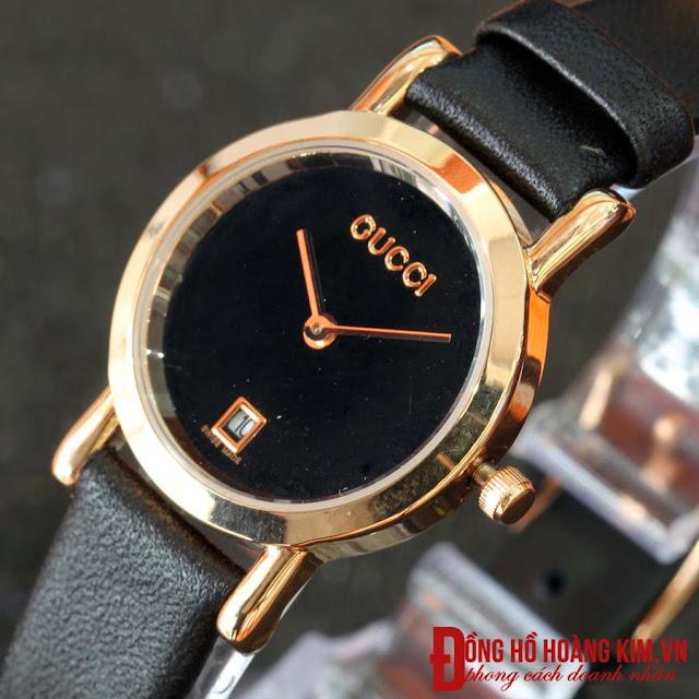 Đồng hồ nữ dây da Gucci
