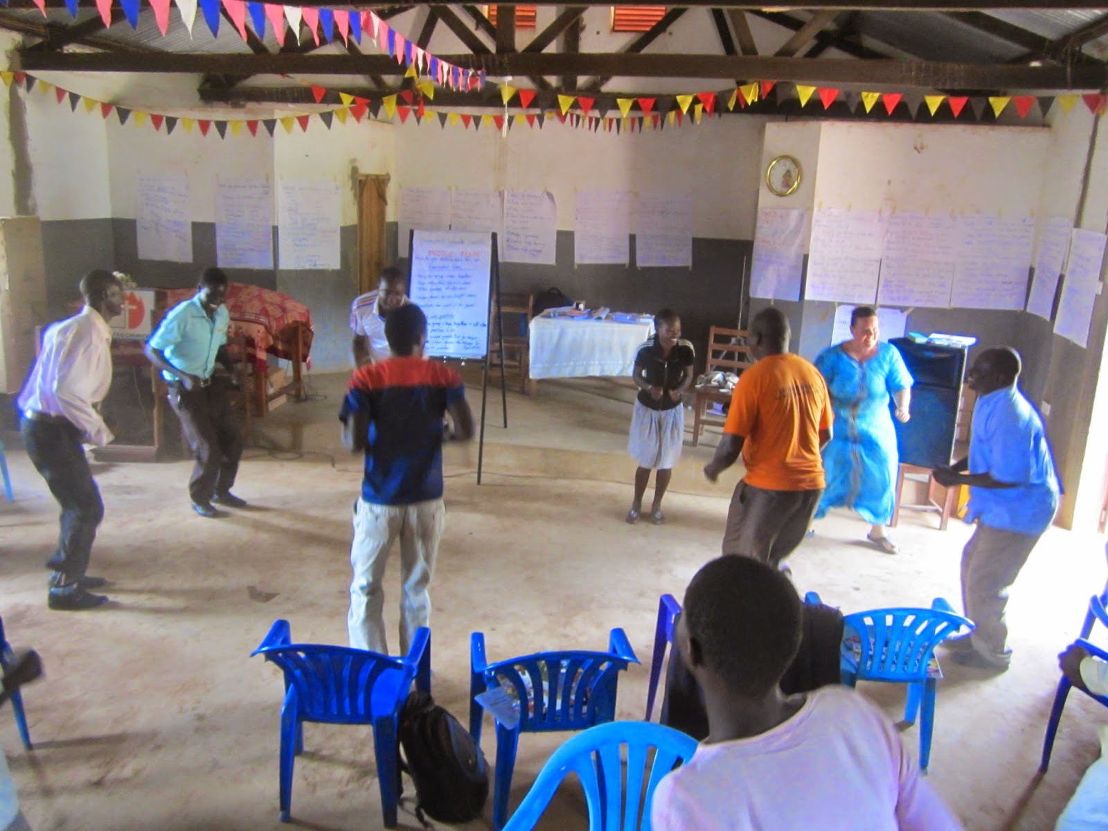 Riding in God's Palm: Training in Abim