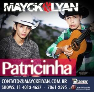 Baixar CD Mayck+e+Lyan+ +Patricinha Mayck e Lyan   Patricinha