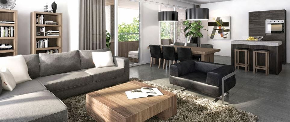 Stunning Woonkamer Hoekbank Contemporary - New Home Design 2018 ...