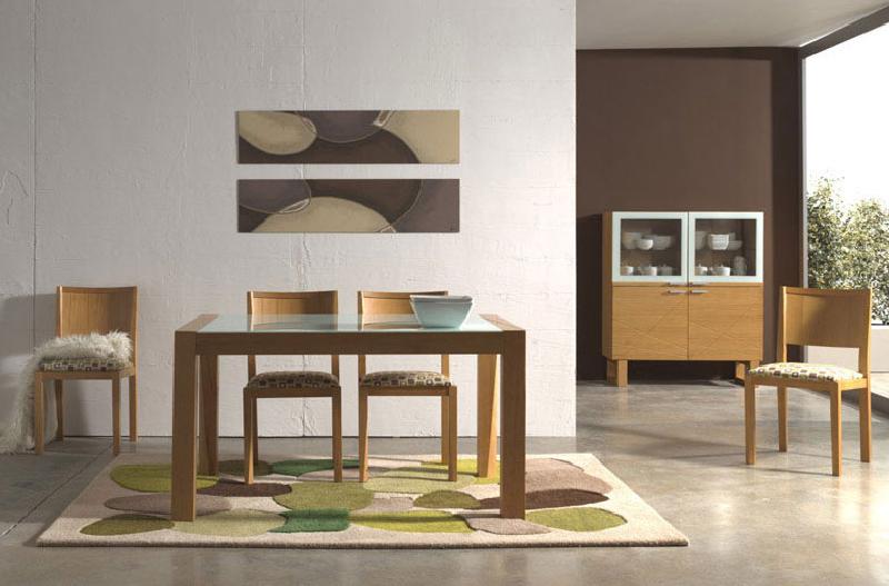 Pintar salon muebles color cerezo for Color paredes muebles cerezo