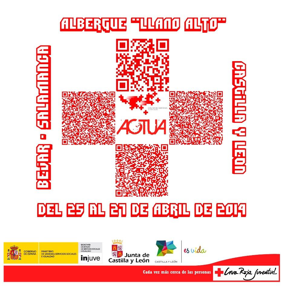 cartel actua de cruz roja juventud
