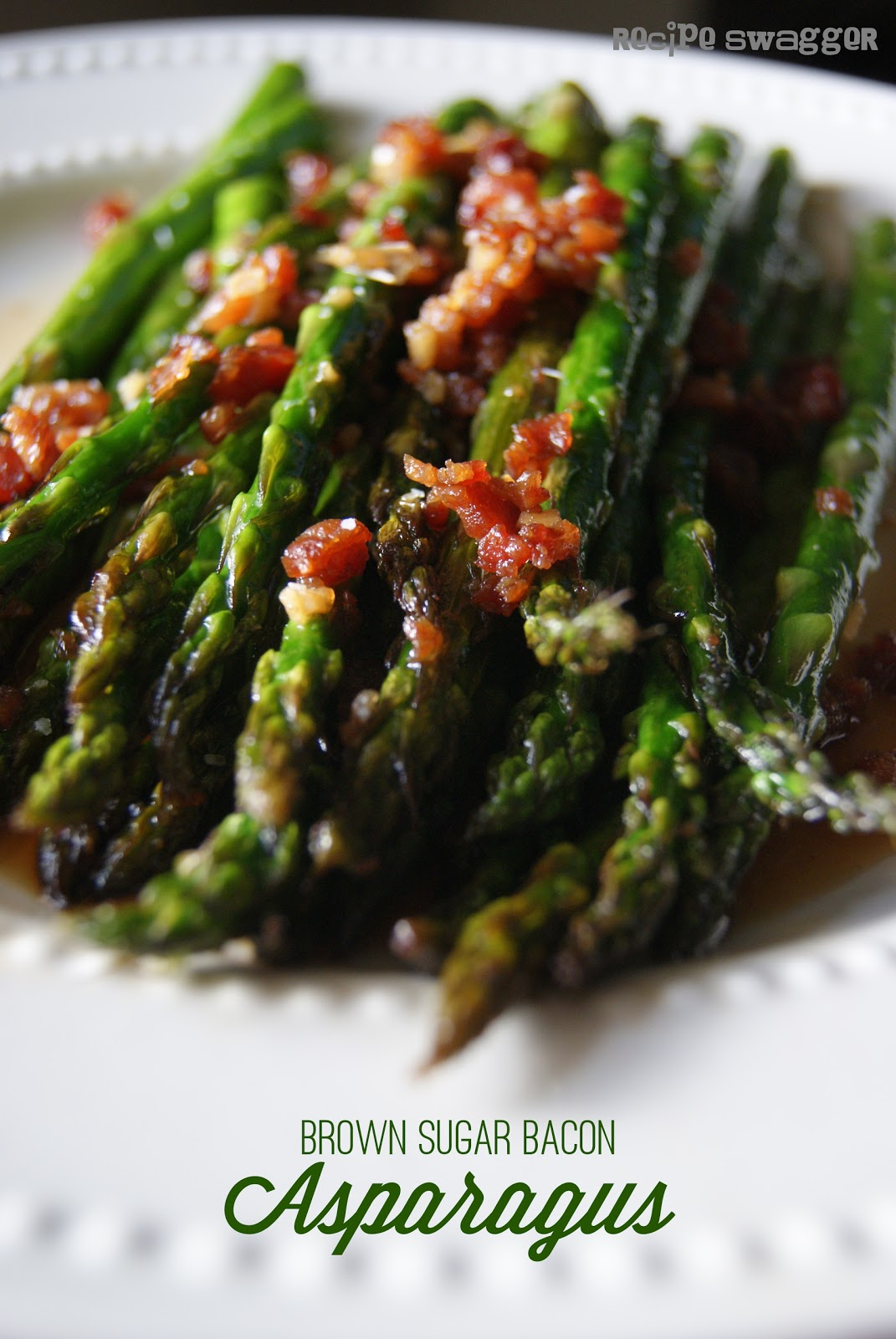Brown Sugar Bacon Asparagus
