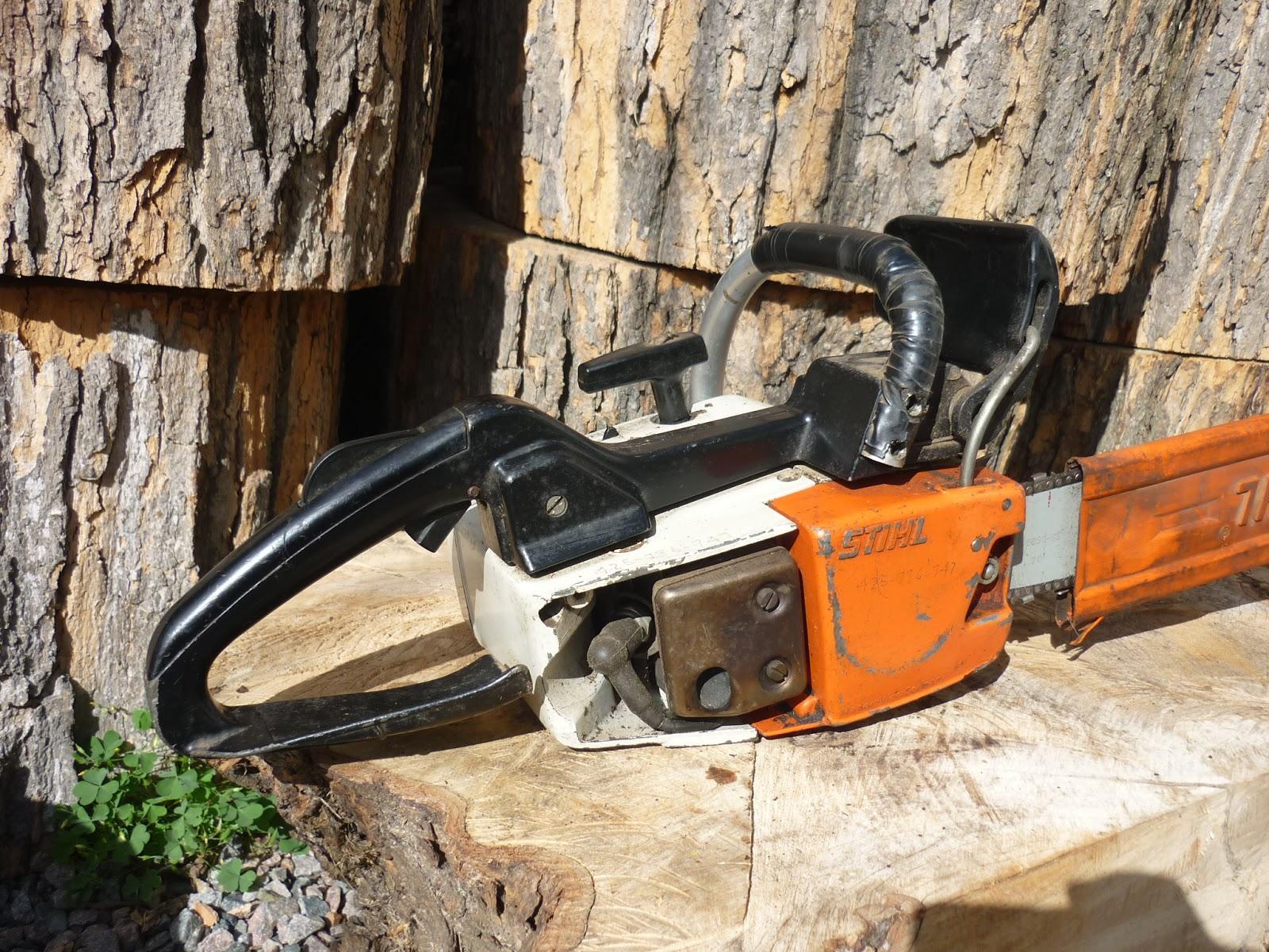Vintage Chainsaw Collection Stihl 020 Avp