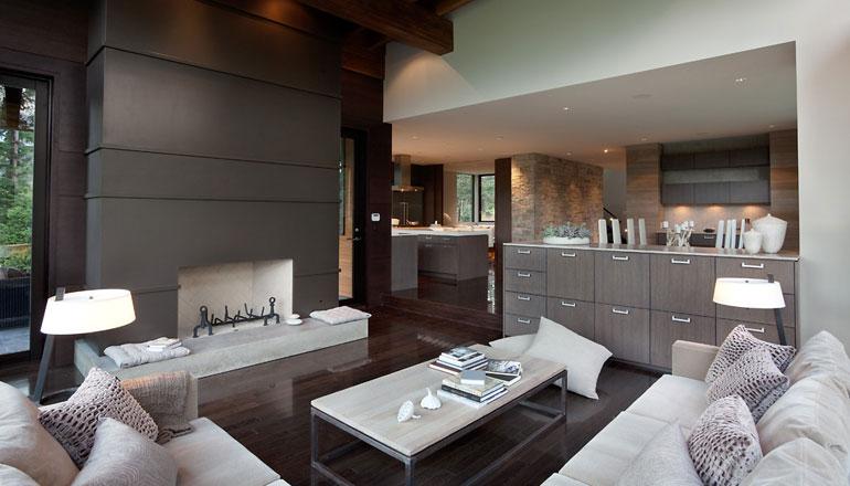 Como se muestra a continuación, este es el diseño interior minimalista donde el espacio no es demasiado grande, pero aún así es muy cómodo, porque no hay
