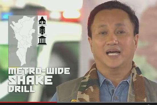 Metro-wide Shakedrill Philippines 2015