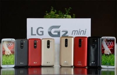 LG G2 Mini, Layar 4,7 inci dengan Dua Varian Chipset Prosesor