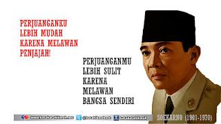 quote kemerdekaan dan perjuangan, soekarno