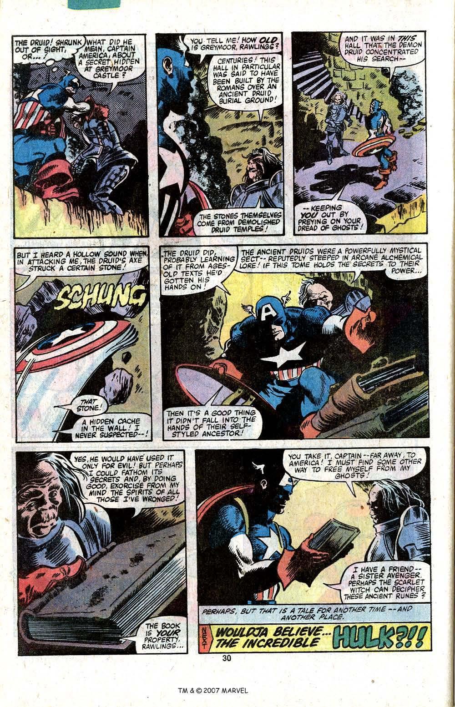 Captain America (1968) Issue #256 #171 - English 32