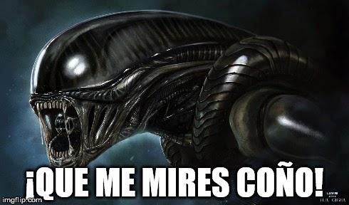 alien del coño