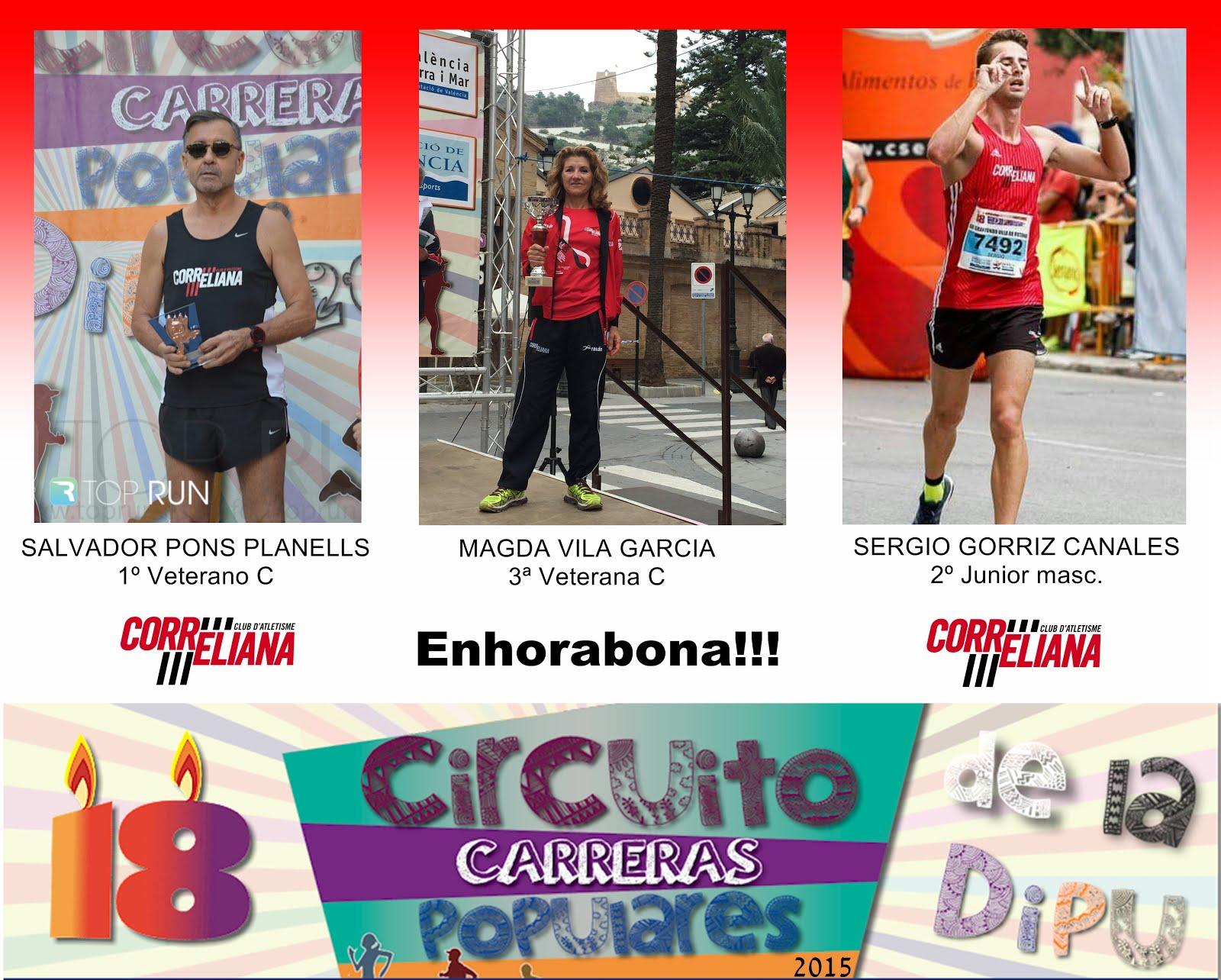 CIRCUIT DIPUTACIÓ VALENCIA 2015