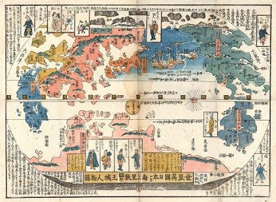 昔の世界地図
