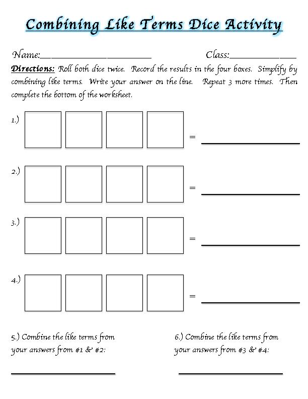 Algebraic Expressions - Lessons - Tes Teach