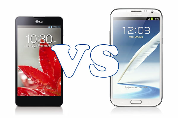 lg optimus g vs samsung galaxy note 2