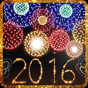 2016 နွစ္သစ္တြက္ အေကာင္းဆံုး Live Wallpaper NewYears fireworks v2.1.4 APK