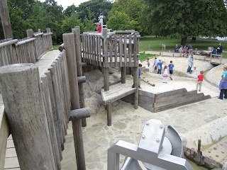 Norwood Park water play area