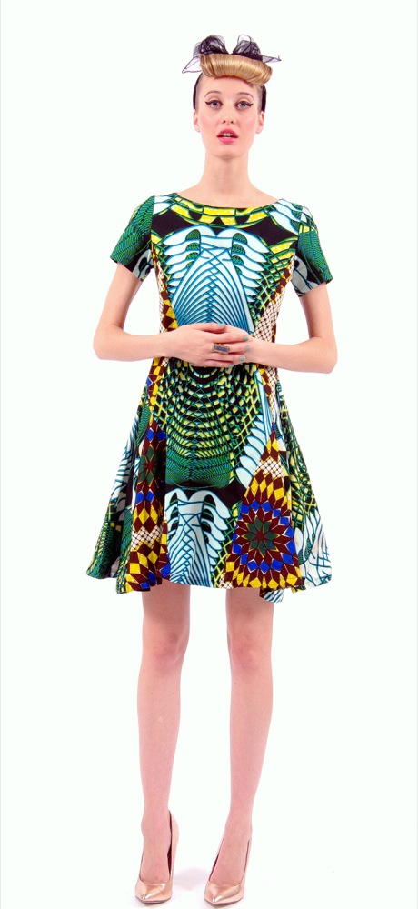 Boxing Kitten's Spring/Summer 2013 Collection maya lake- pagne africain