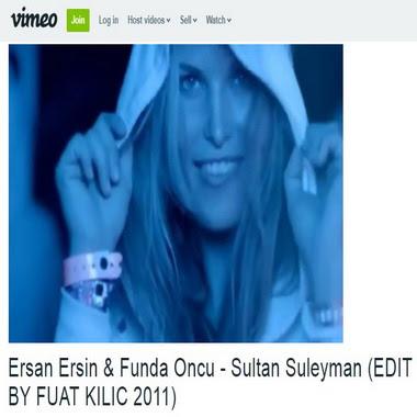 vimeo com - ersan ersin - funda öncü - sultan süleyman