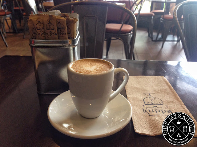 Kuppa Roastery and Cafe - Ben's Cappucino