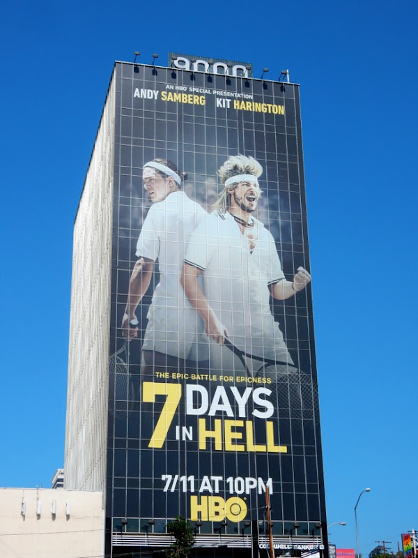 Giant 7 Days in Hell billboard