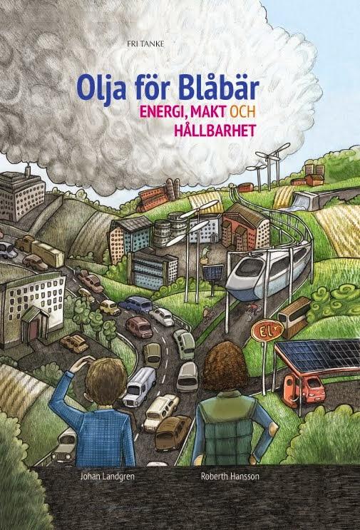 Vår nysläppta bok Olja för blåbär