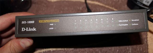 D-Link DES-1008D Fast Ethernet Switch Säljes