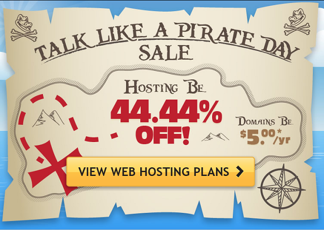 Hostgator+Pirate+Day+Sale