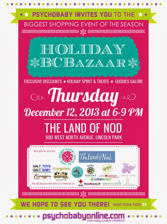 Buy Your Ticket Now for the Holiday BCBazaar