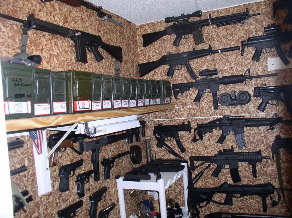 Beau Burglar Locks Homeowner In His Gun Closet   Guess What Happens? :)