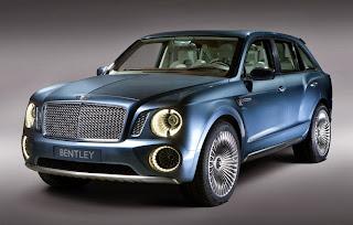 Bentley EXP 9F – SUV