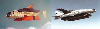 Gerry Anderson helijet design