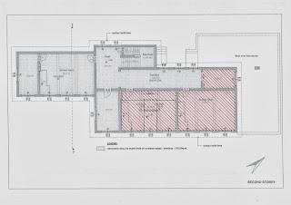 Warmed zone - first floor