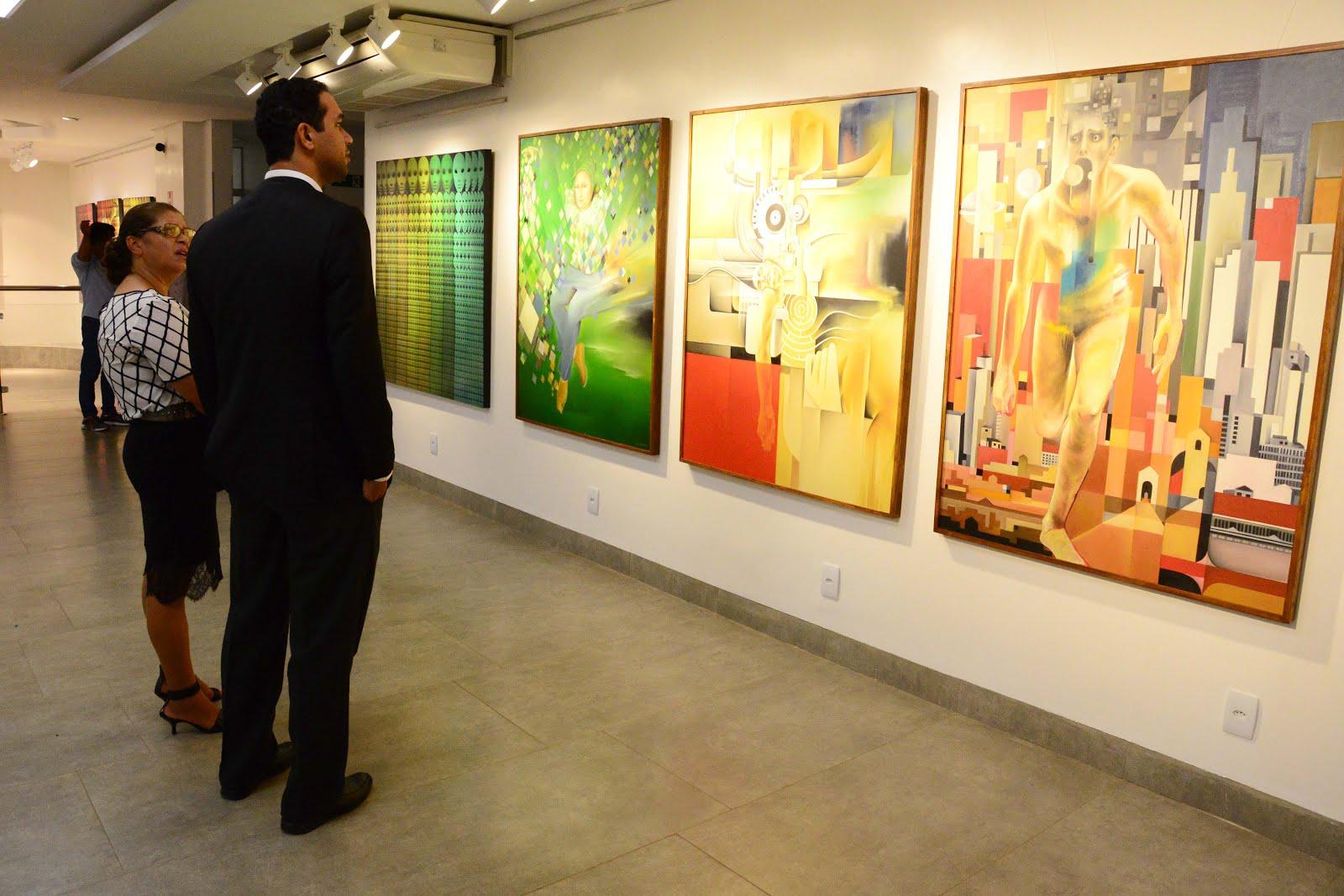 """Galeria de Arte NILA-Exposição """"Retorno e Recorrência"""""""