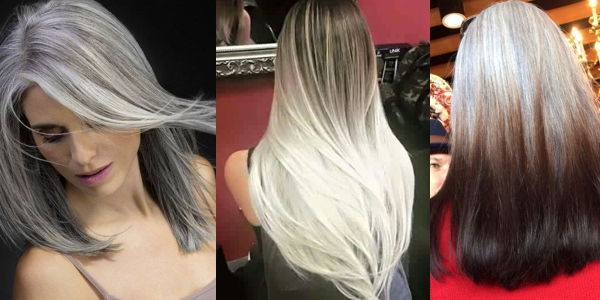 Salt And Pepper Hairstyles Photos And Video Tutorials - Video girl hairstyle