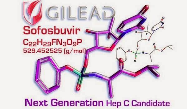 Hepatitis C drug Gilead's sofosbuvir