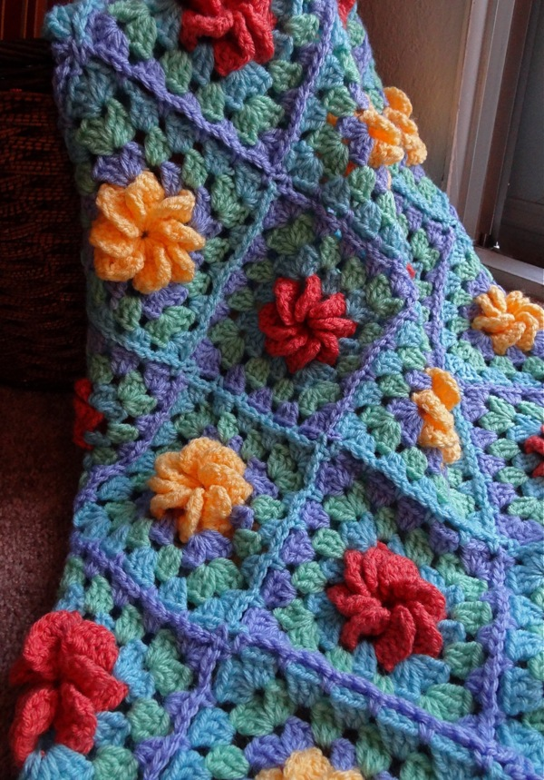 twinkle and twine  finished products  crocheted baby blankets