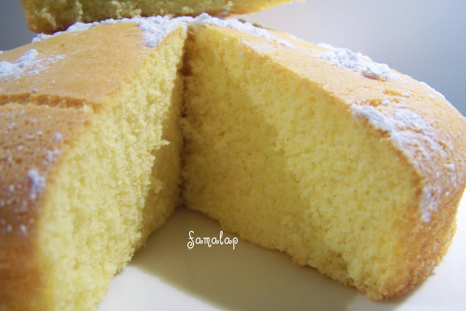 Cocina f cil sin gluten bizcocho de natillas - Cocina facil sin gluten ...