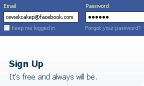 Hack akun Facebook Cewek Cakep