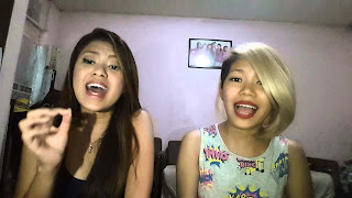AKA Jam's Katrina Velarde and Monique Lualhati touched everyones hear with their rendition of Jessie J's hit Flashlight